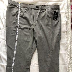 Avenue Women's Plus Size 32 GLEN PLAID Pants Dress
